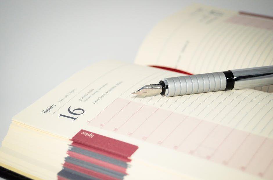 Agenda papier ou électronique? Comment choisir le meilleur agenda