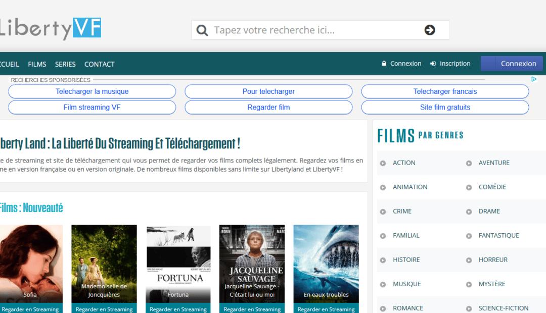 LibertyLand: le site de téléchargement illégal (TV, films, séries, …) qui a fait couler beaucoup d'encre