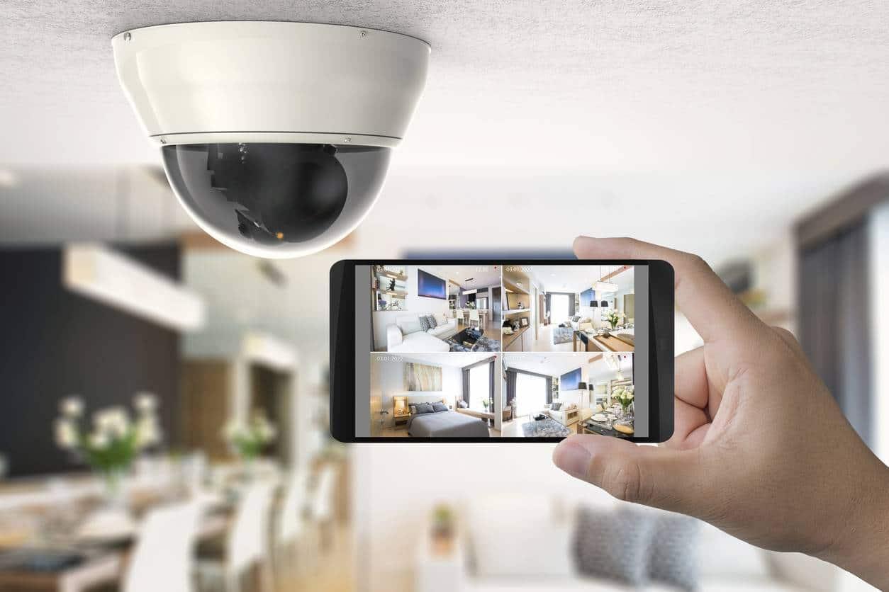 caméra de vidéo surveillance maison