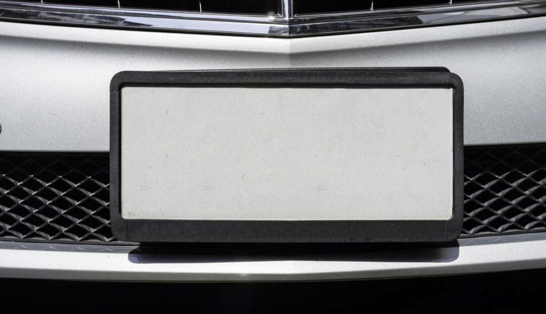 Vente de voiture : Cachez votre plaque !